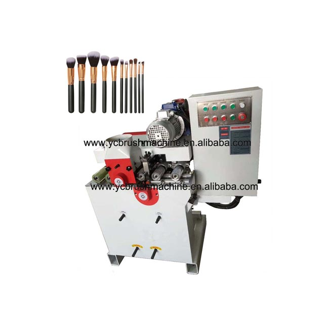 cosmetic brush round handle making machine